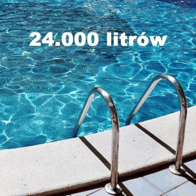 Zestaw chemii basenowej 24000 litrów