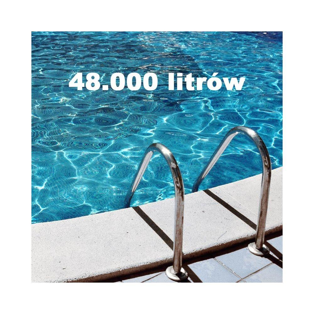 Zestaw chemii basenowej 48000 litrów