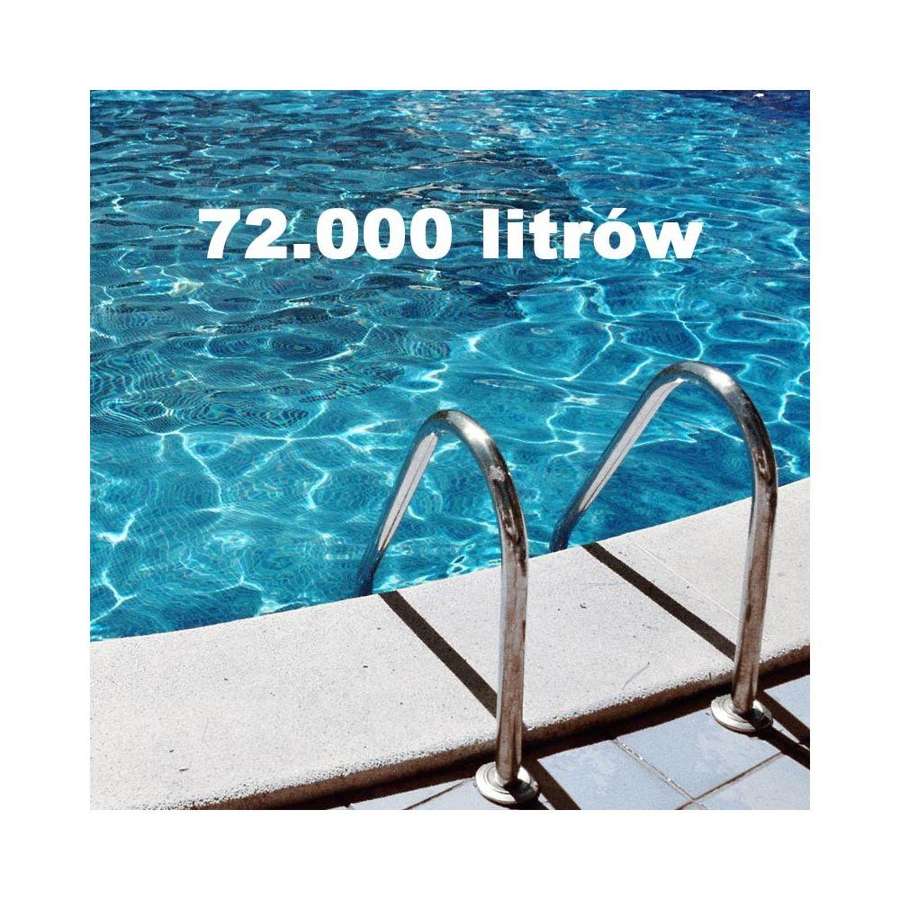 Zestaw chemii basenowej 72000 litrów