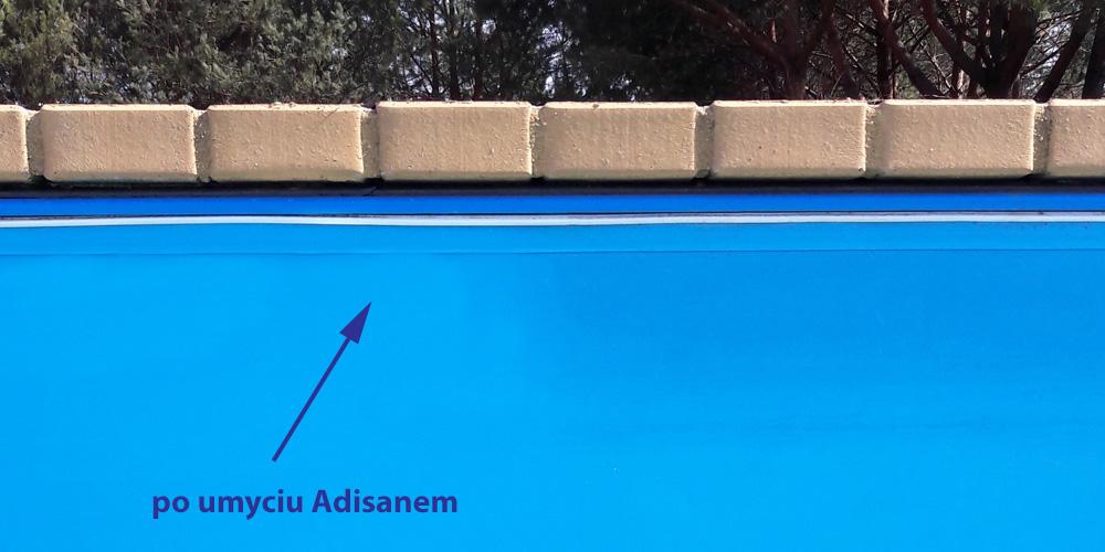 Czyszczenie basenu foliowanego