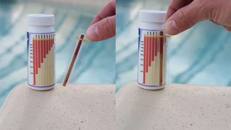 stężenie soli w basenie