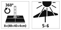 sunflex parasol