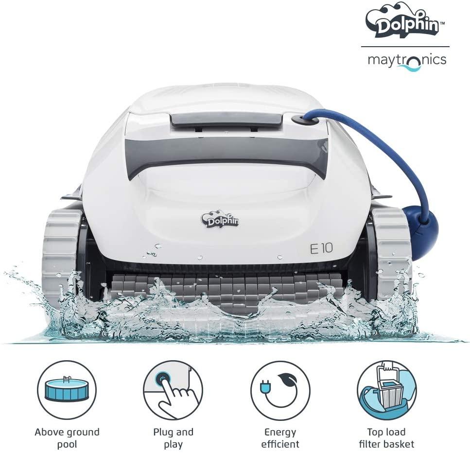 dolphin e10 robot odkurzający dno basenu