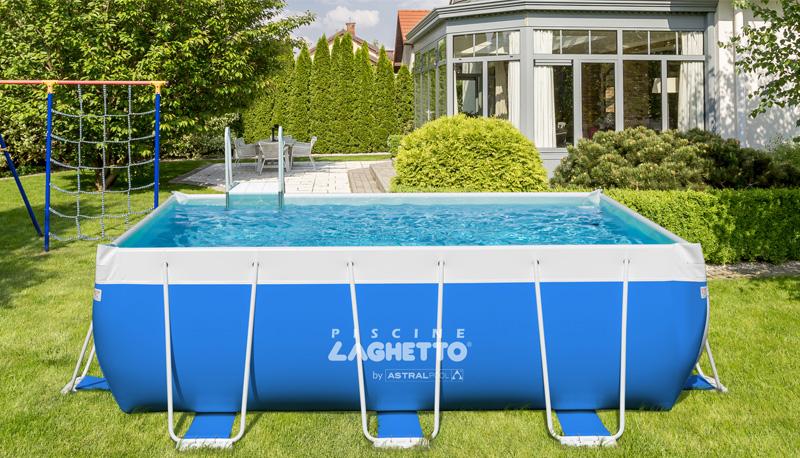 laghetto classic basen ogrodowy z podporami