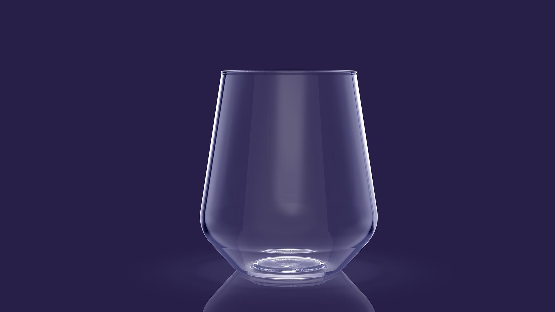 bezpieczna szklanka